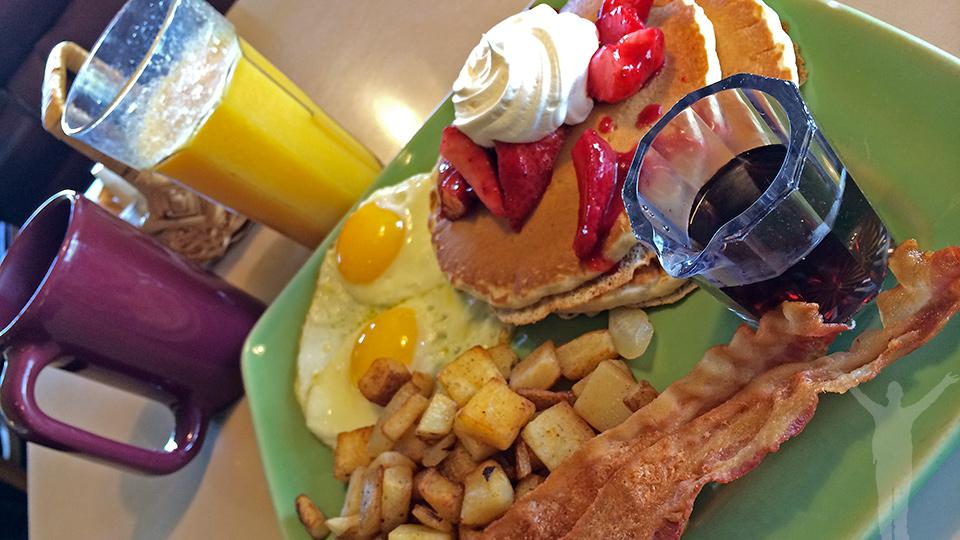 Frukost i Santa Monica