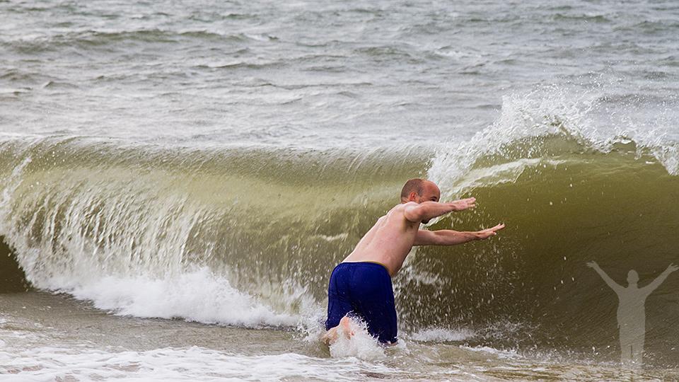 Möt Nordsjöns vågor.