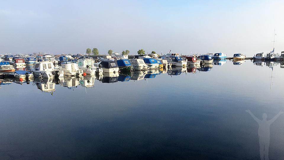 Båthamnen på Frösön