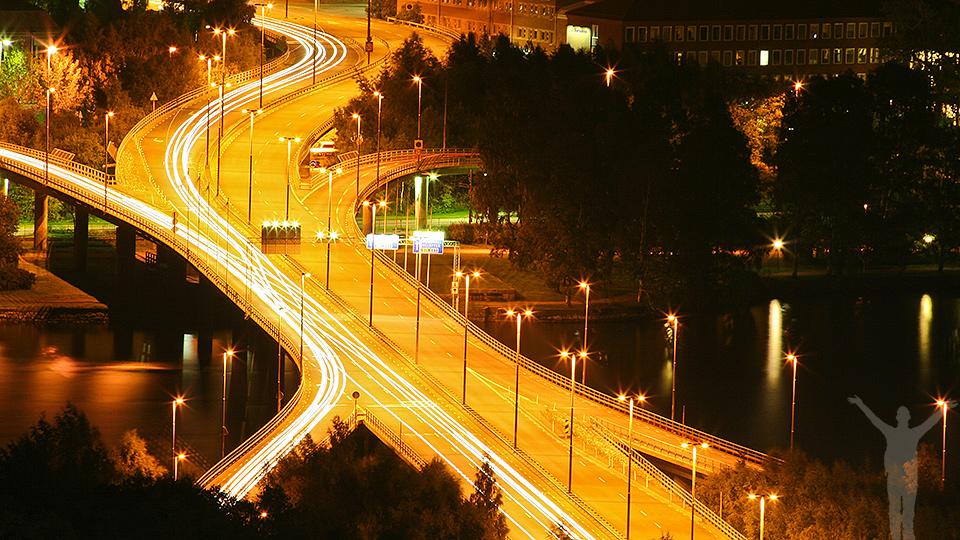 Frösöbron och Östersund