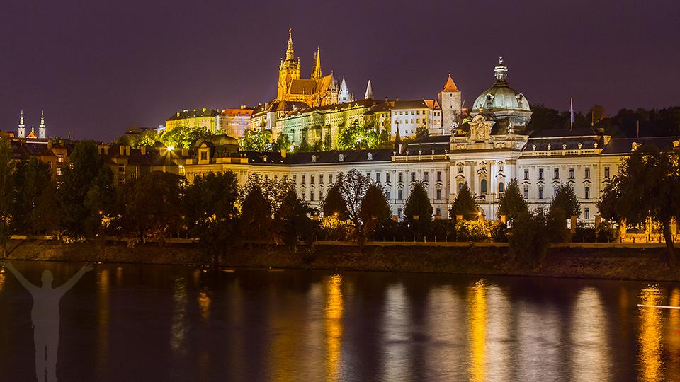 Slottet och Moldau