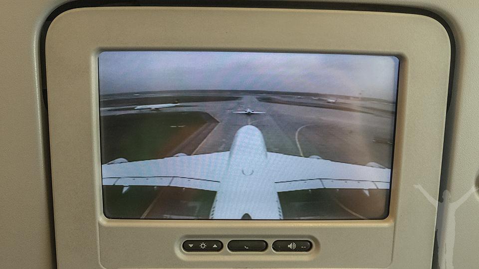 Tail camera på A380