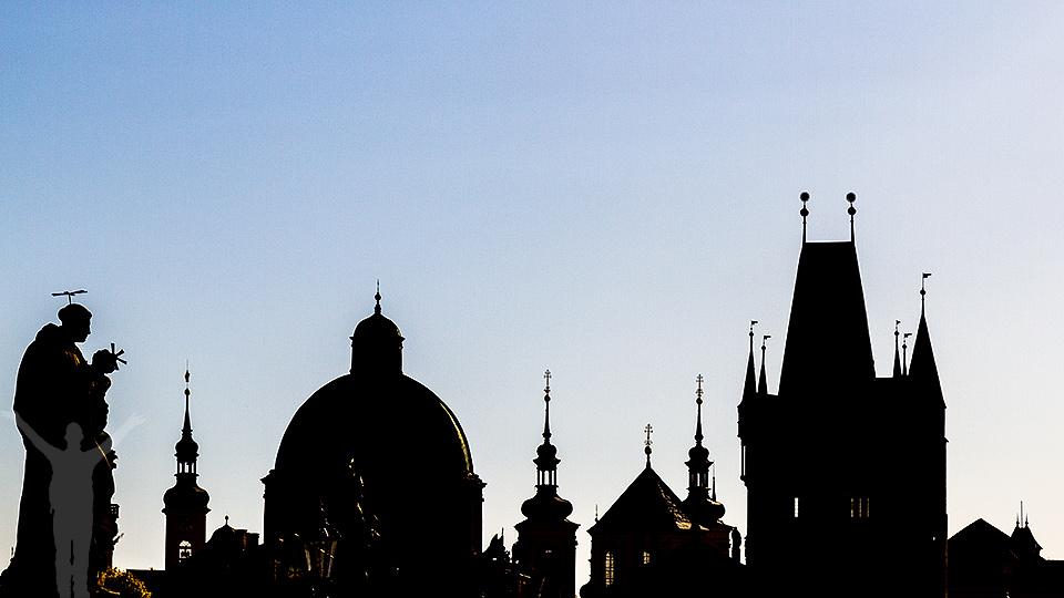 Karlsbron i Prague