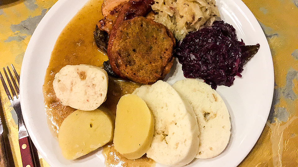 Ät dig mätt i Prag