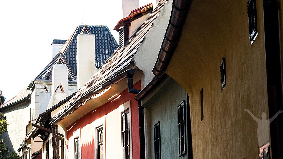 Golden Lane i Prag