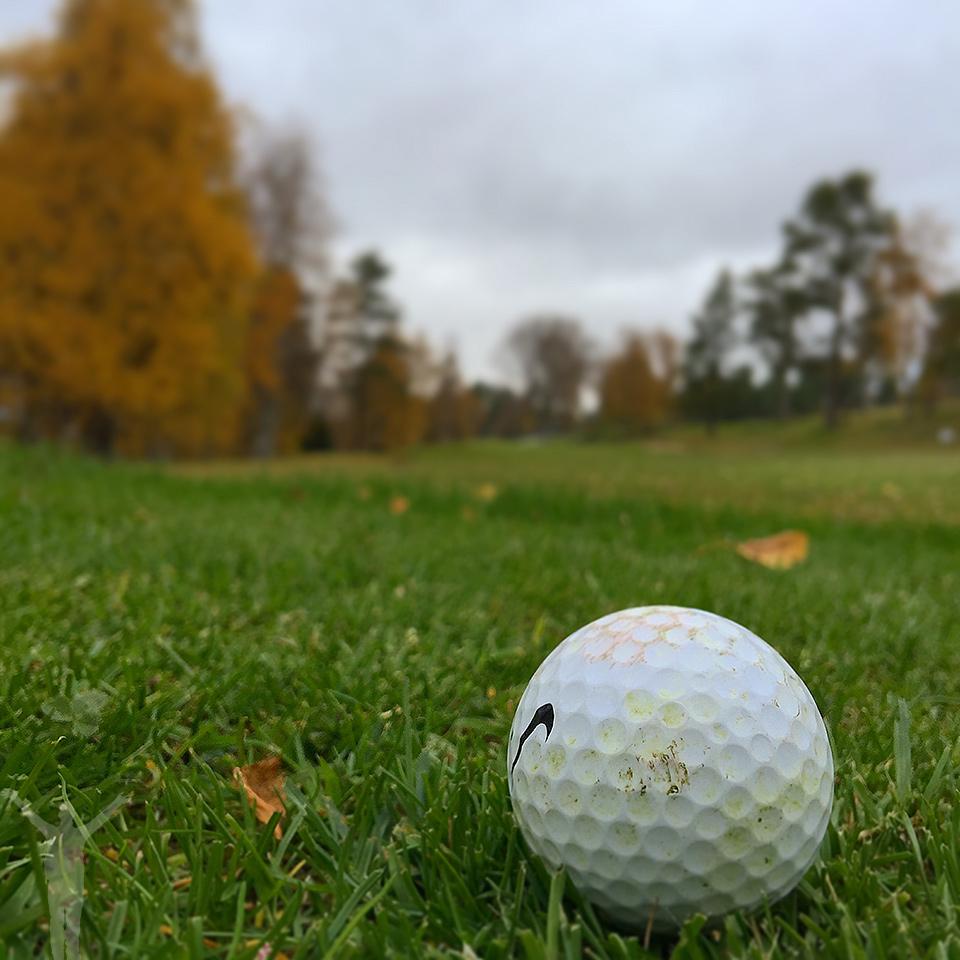 Golf i oktober