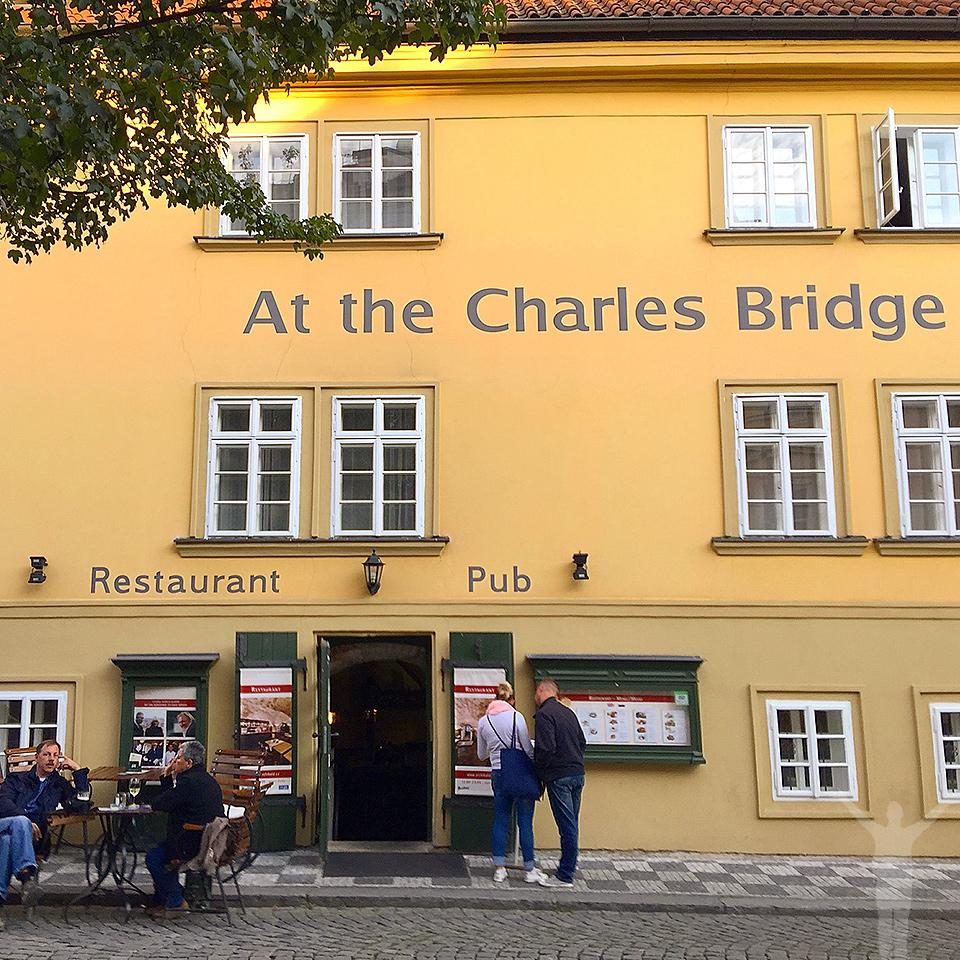 Restaurang i Prag