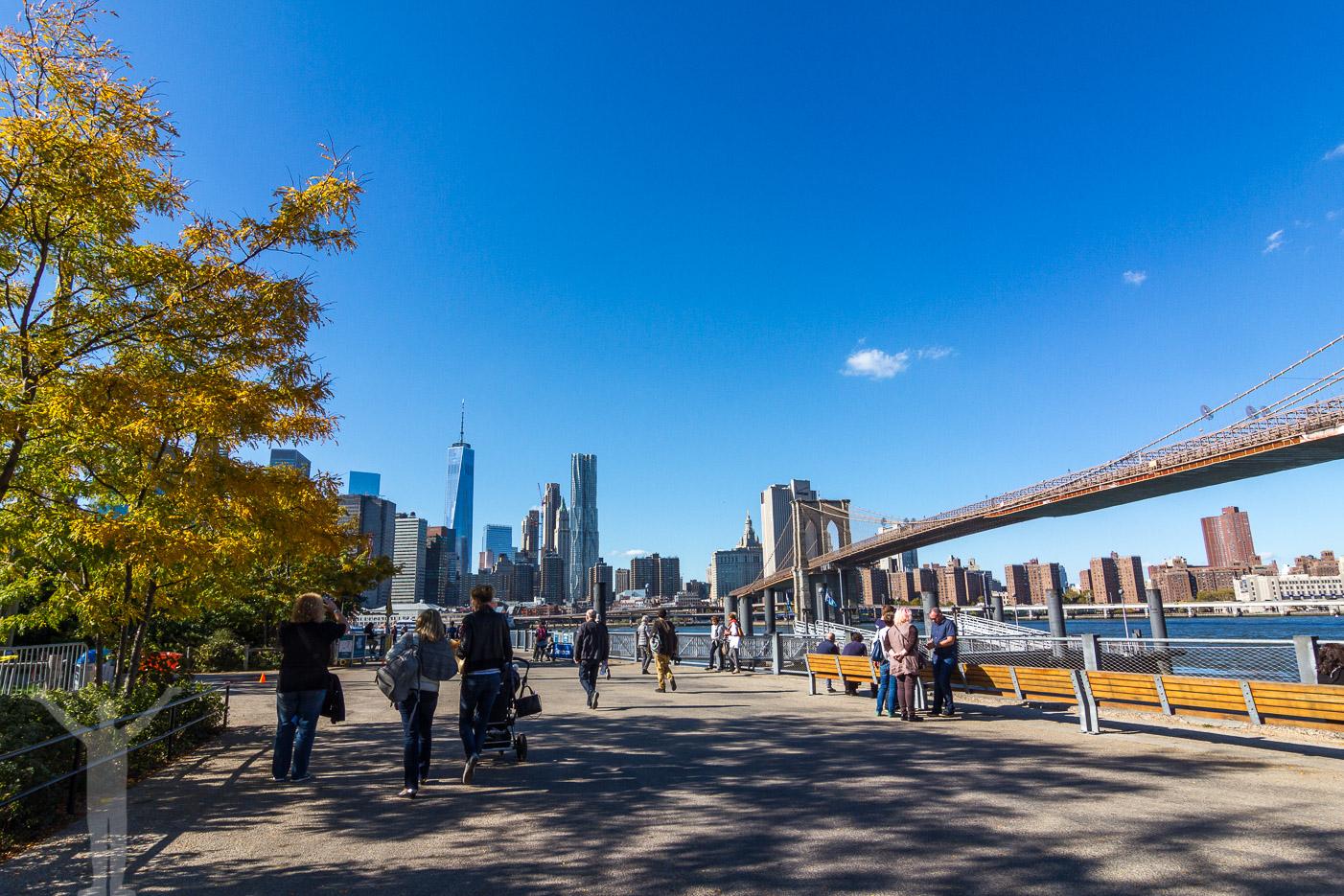 Brooklyn och Brooklyn Bridge