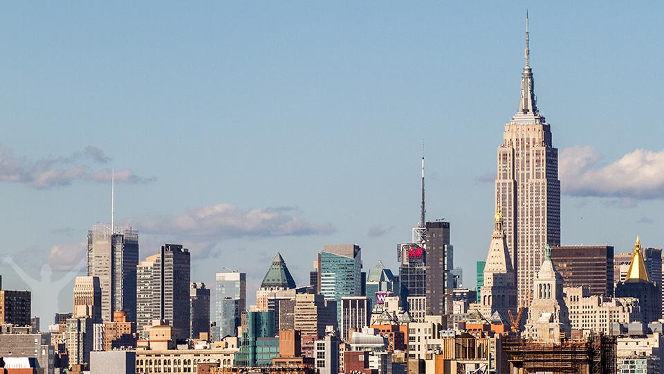 Utsikten från Brooklyn Bridge