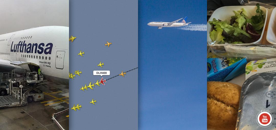 Lufthansa A380, flight LH400 FRA-JFK