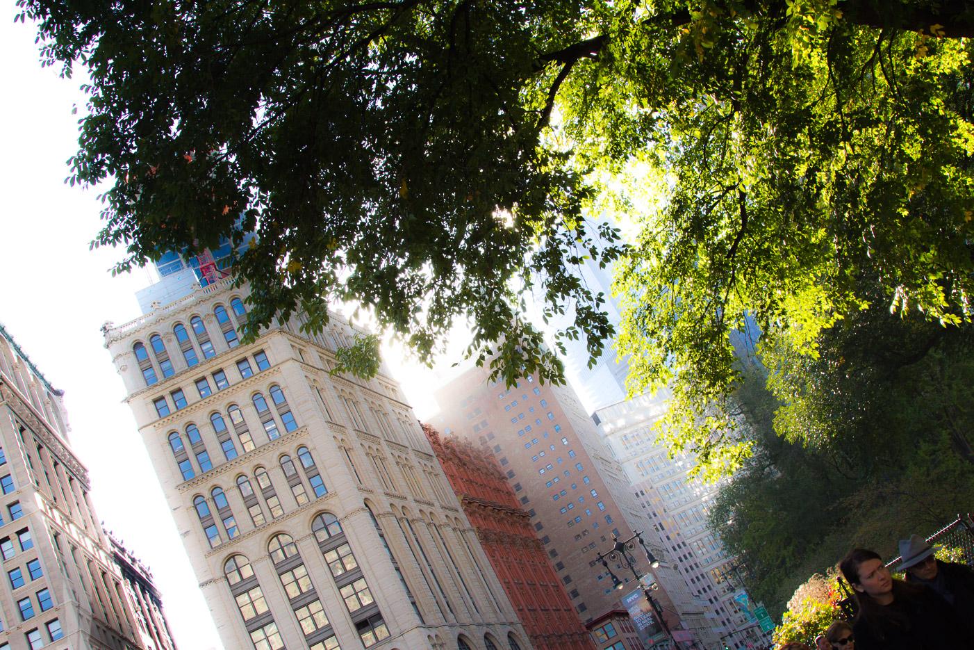 Höghus på Manhattan