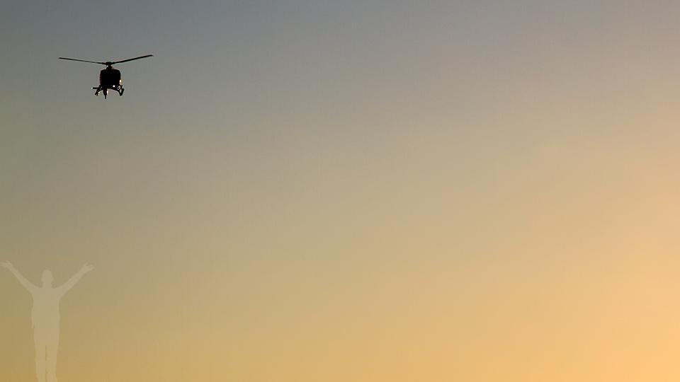 En helikoptertur förgyller New York-resan.