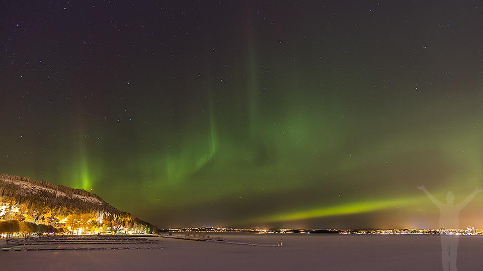 Annorlunda julafton - norrsken