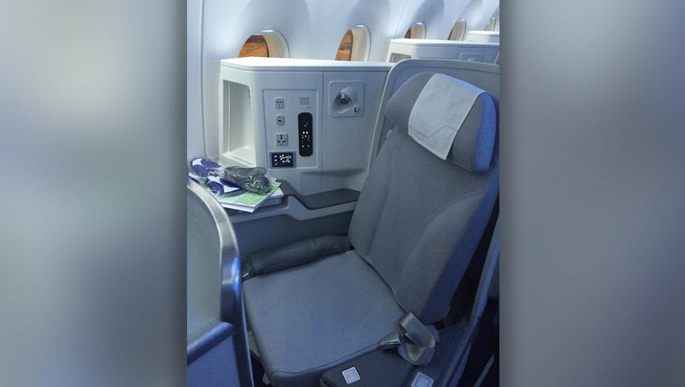 Finnair A350 i business - preflight