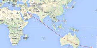 Världens längsta flygresa