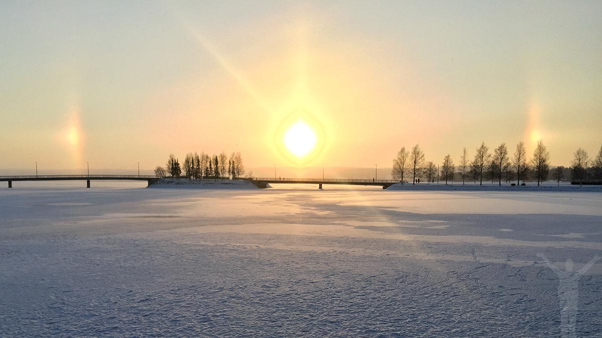 Halo-fenomen i Badhusparken
