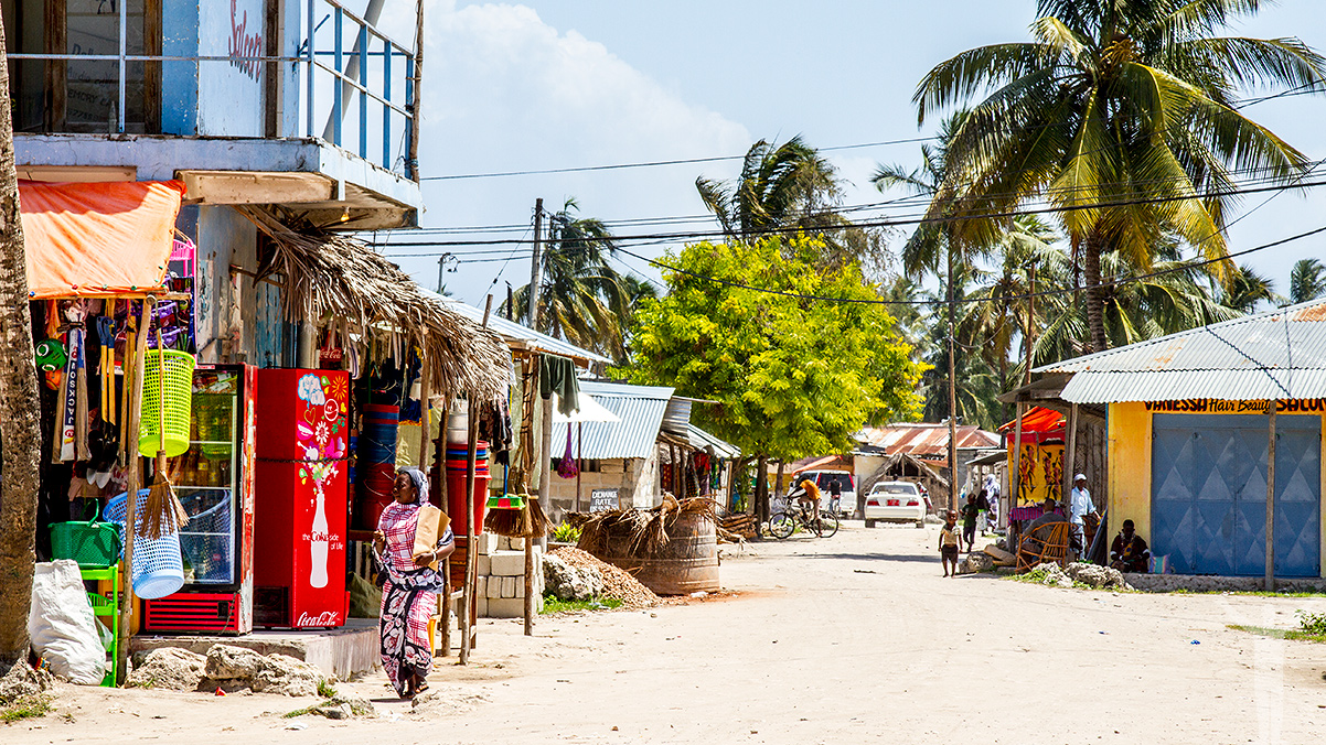 Streets of Nungwi