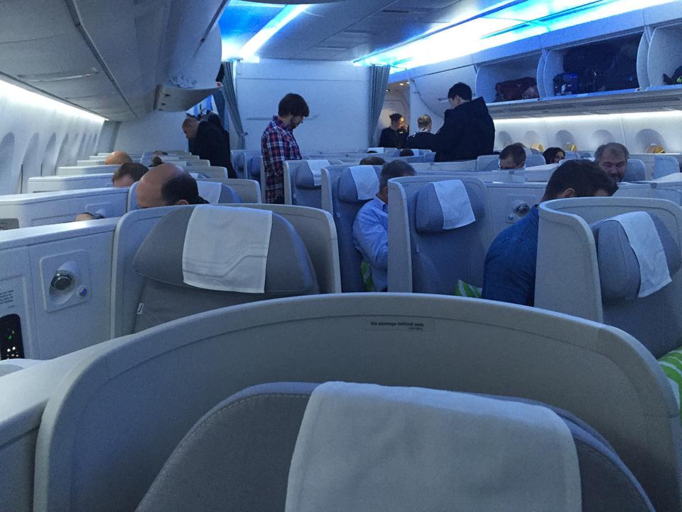 Finnair A350 preflight