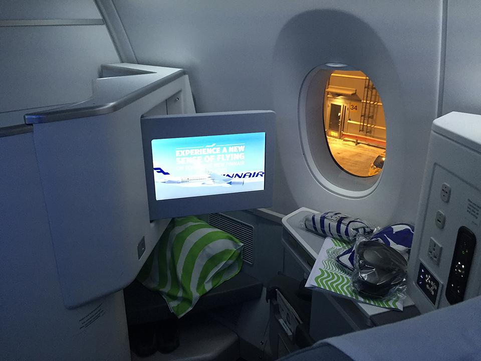 Finnair A350 till Peking - preflight