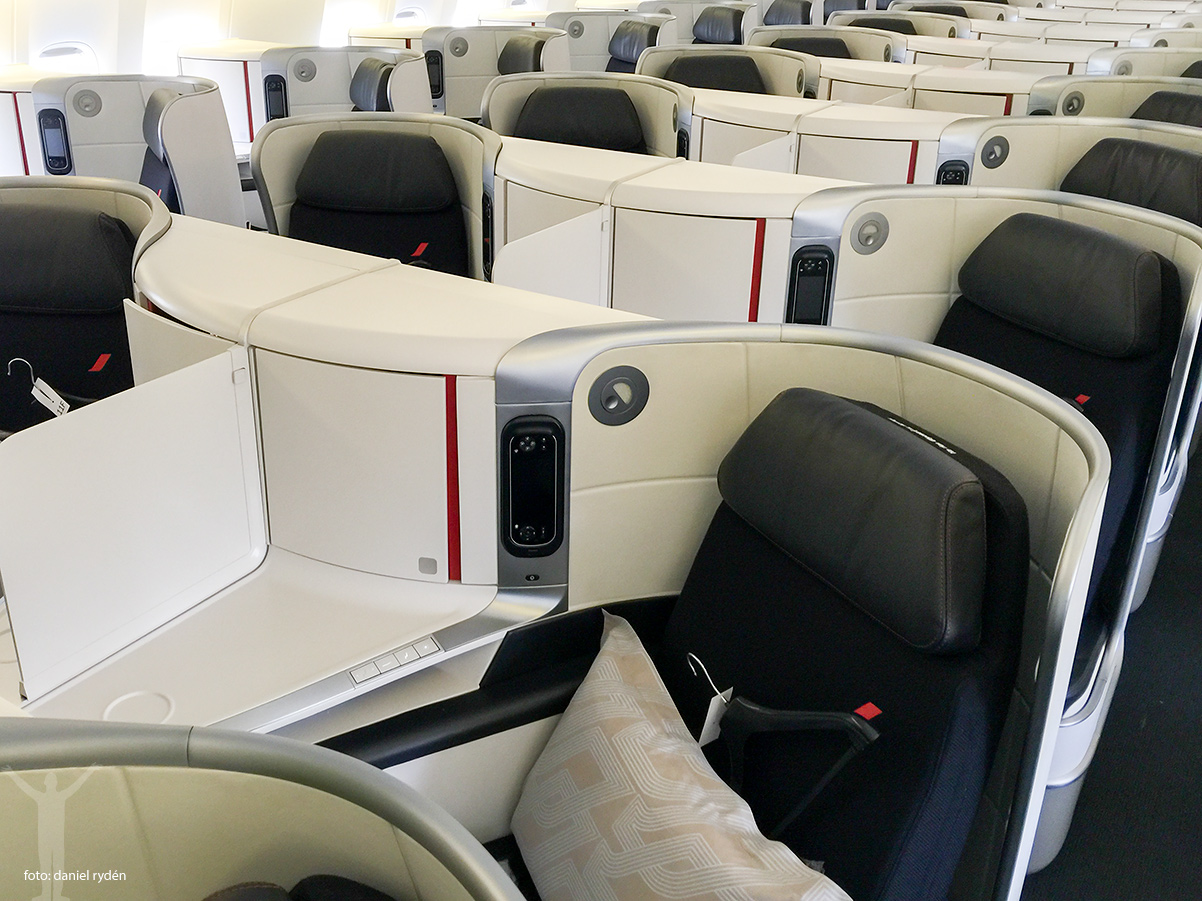 Nya Business hos Air France