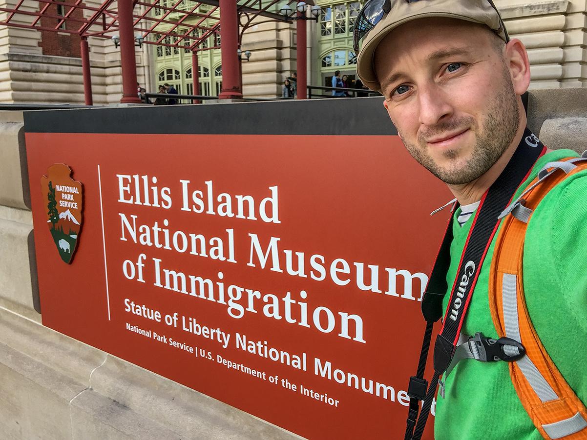 Dryden på Ellis Island