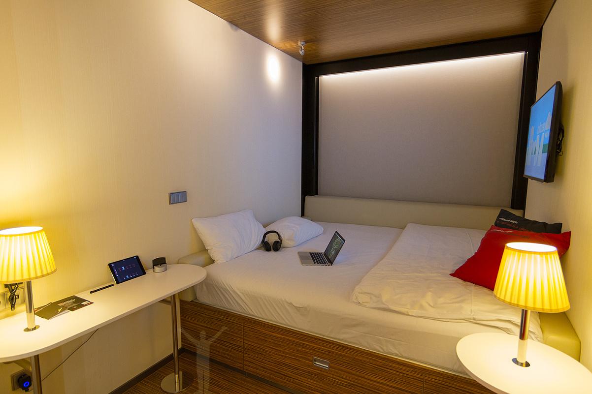 Hotellrum på citizenM