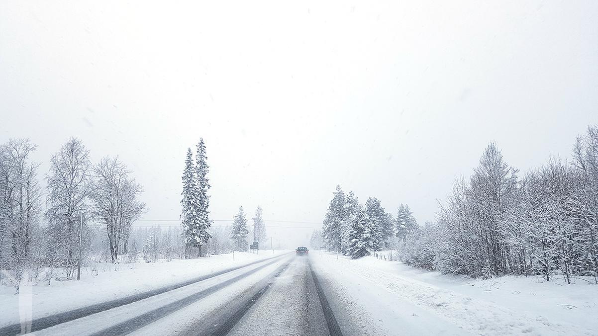 Roadtrip i vårvinter-Jämtland