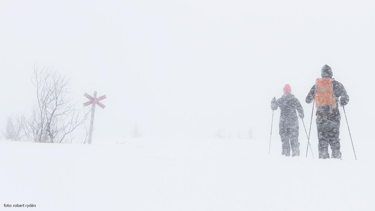Skidåkning i Edsåsdalen