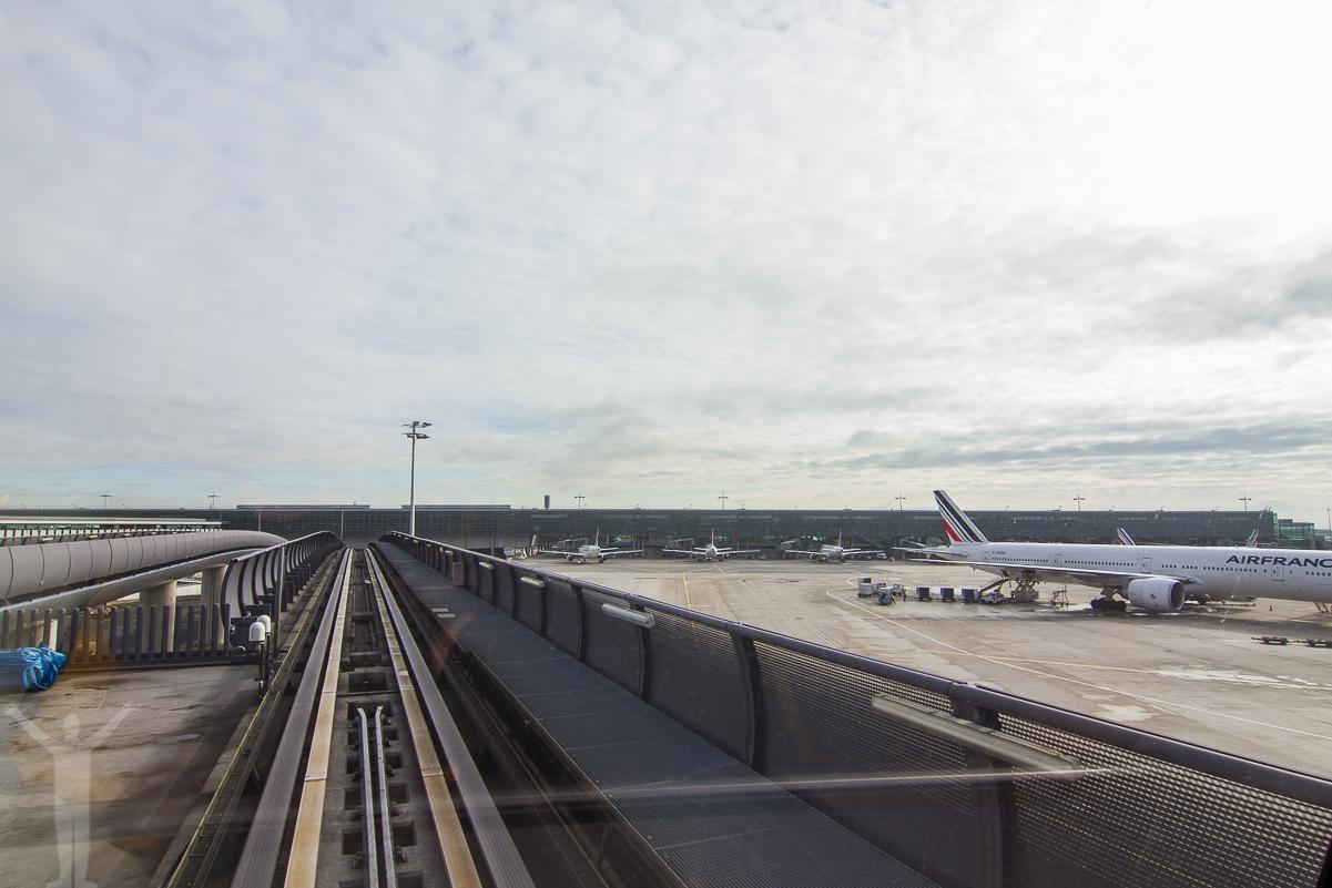Airport Shuttle Train - CDG