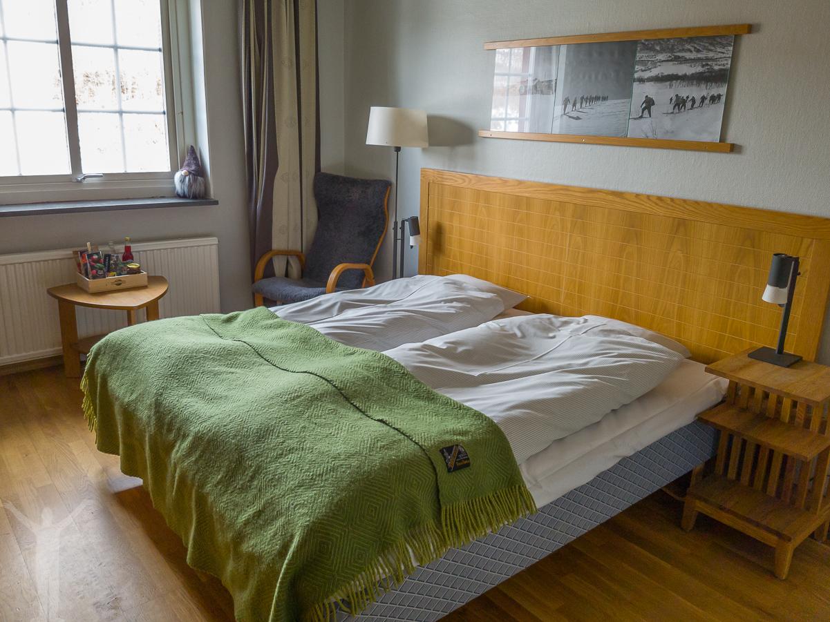 Rummet och sängarna