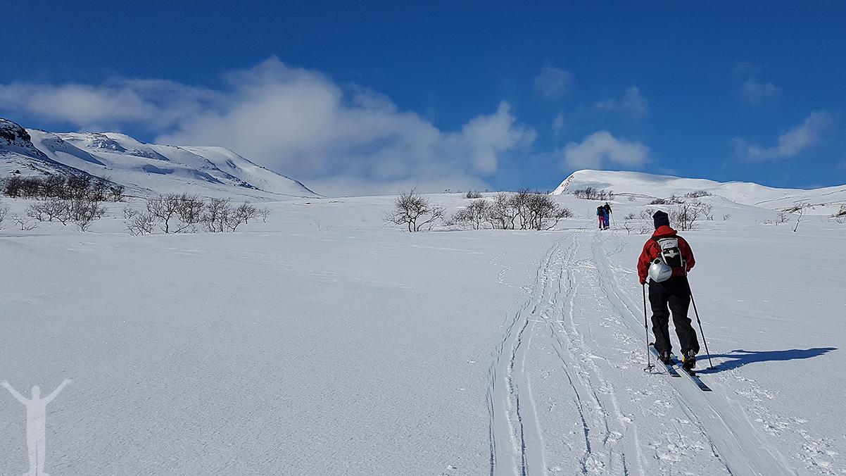 Låt oss njuta av vårvinter i Jämtland!