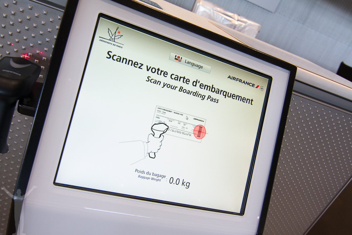 Self-service hos Air France