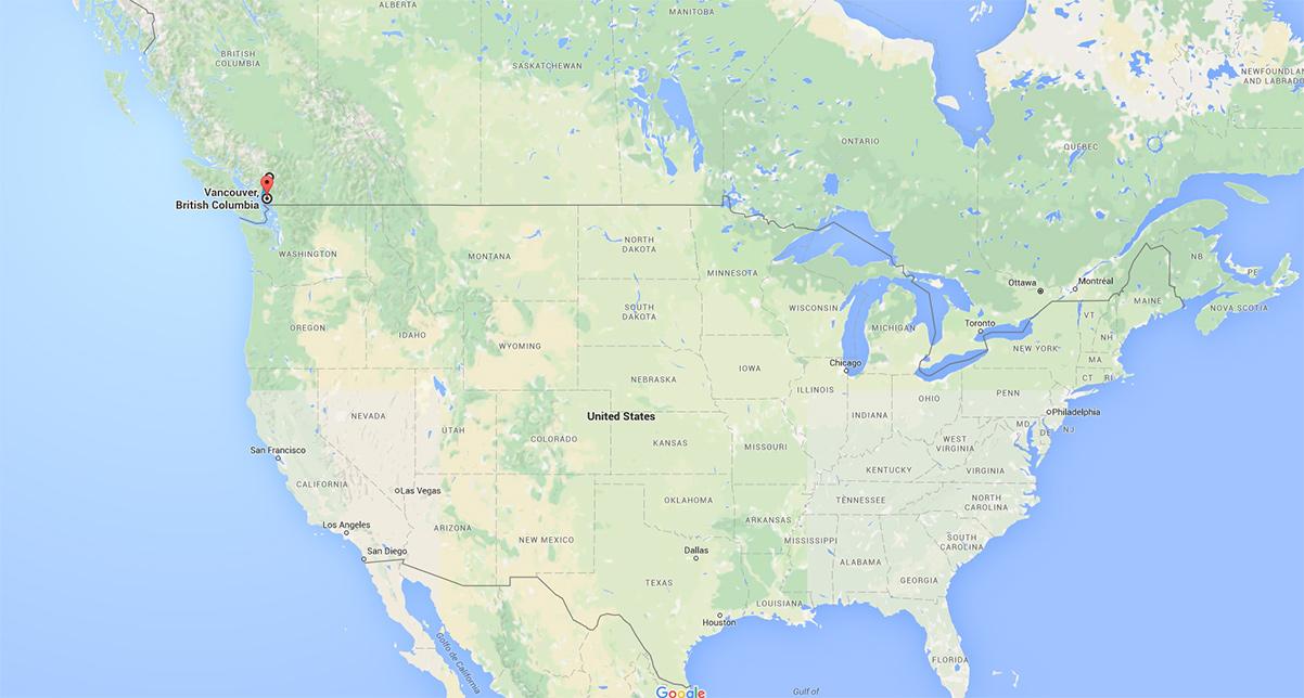 Nordamerika - Kanada - BC