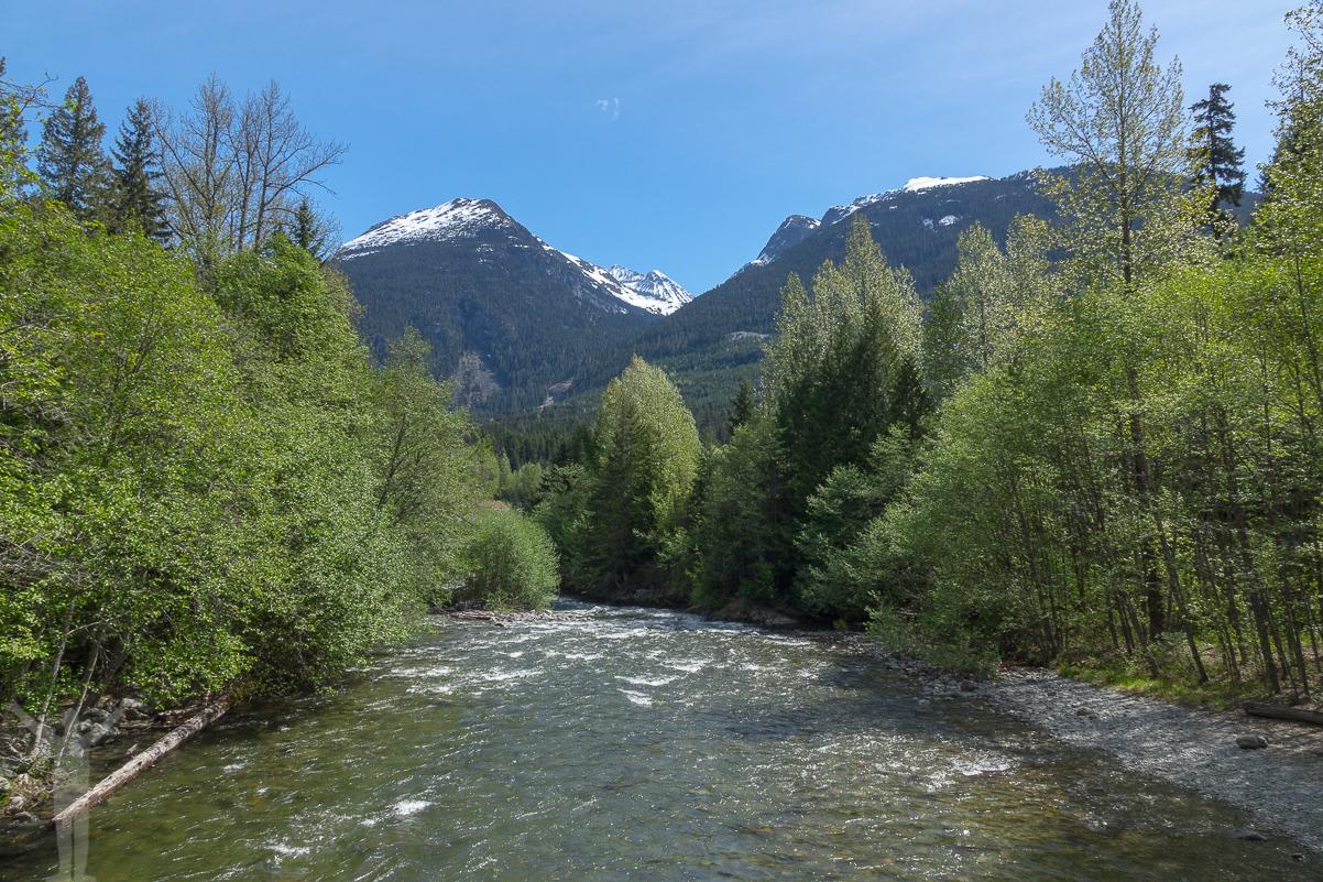 Bergstoppar, British Columbia