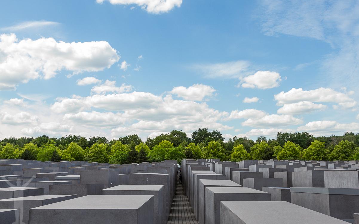 Historiska kontraster i Berlin