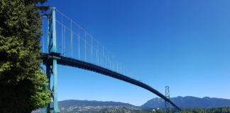 Lions Gate Bridge, Vancouver