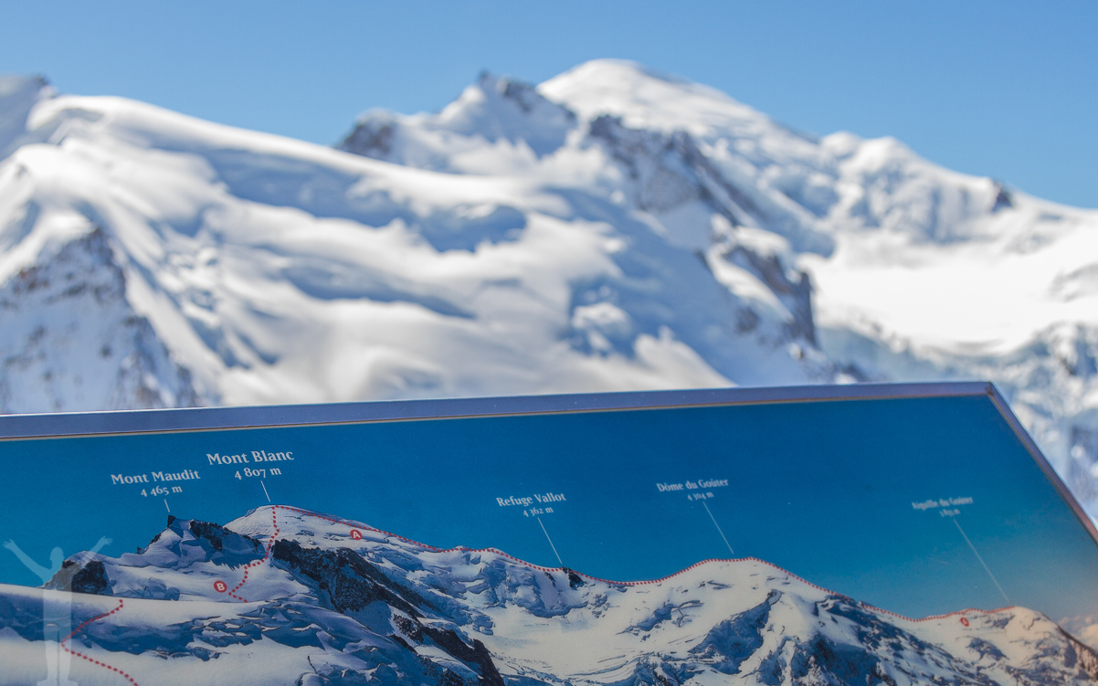 Mt Blanc, Chamonix