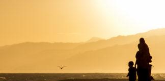 Solnedgång i Santa Monica