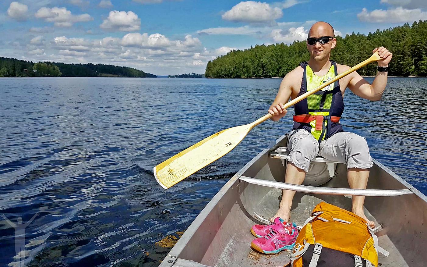 Dryden - paddla kanot i Dalsland