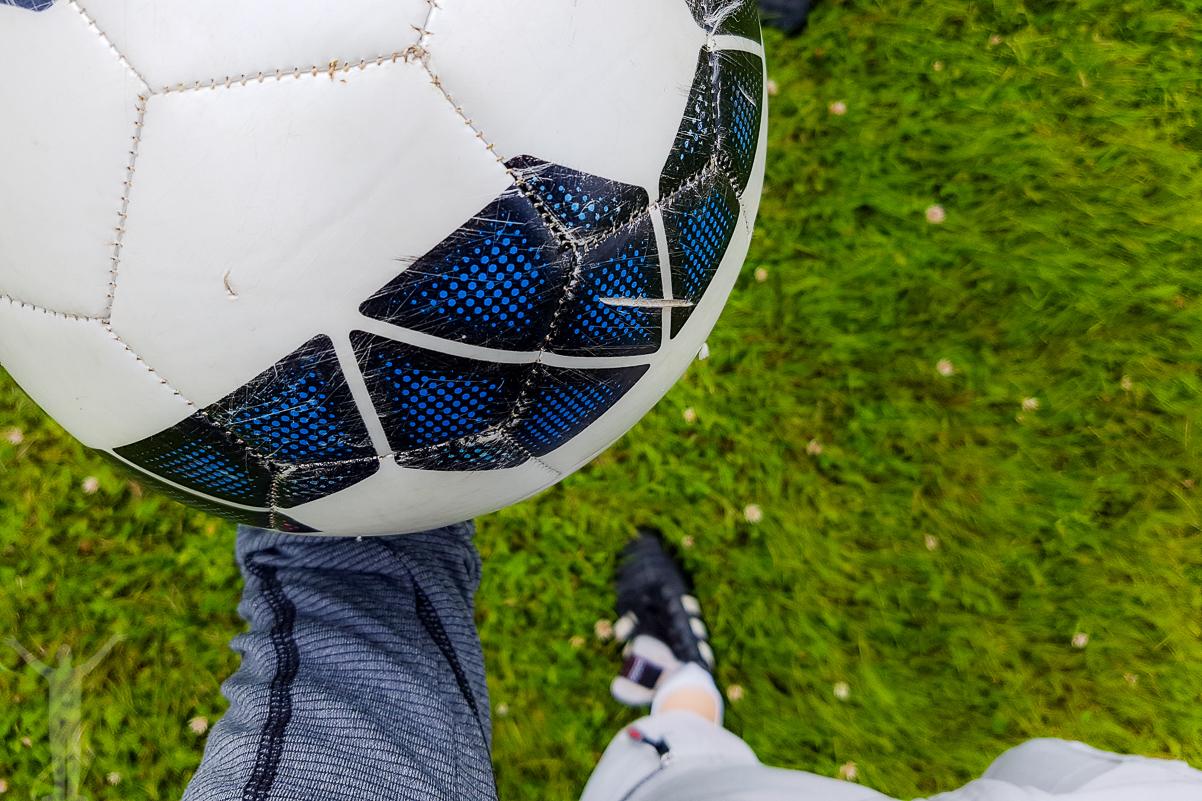 Fotbollsgolf utanför Uddevalla