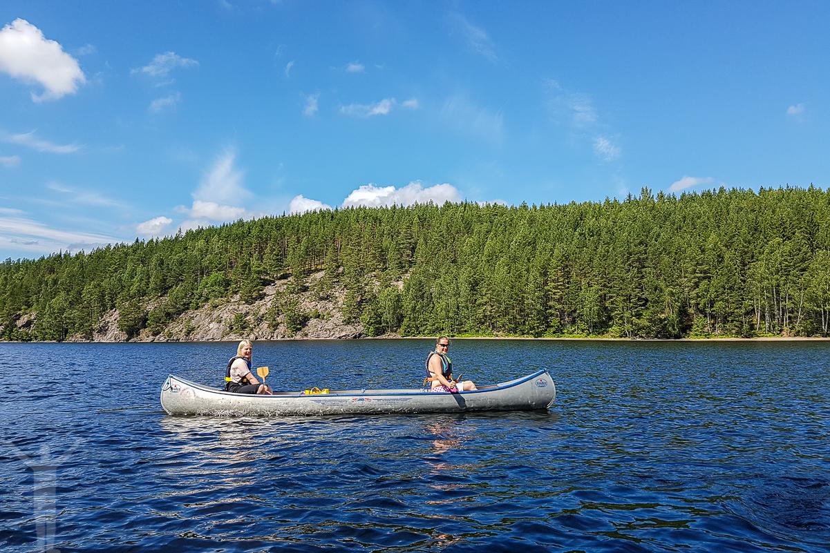 Paddla kanot i Dalsland.