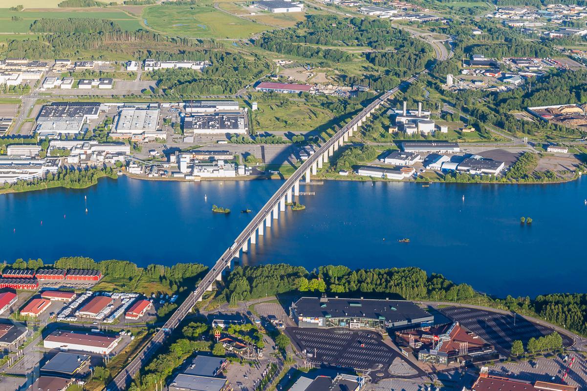Stallbackabron i Trollhättan.