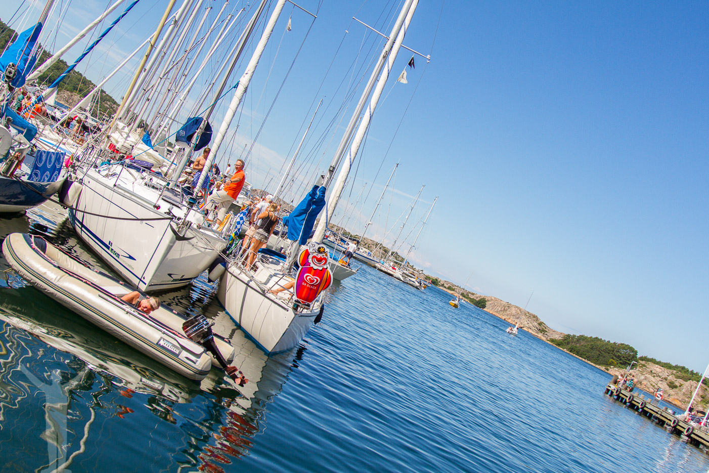 Båtar i Fjällbacka
