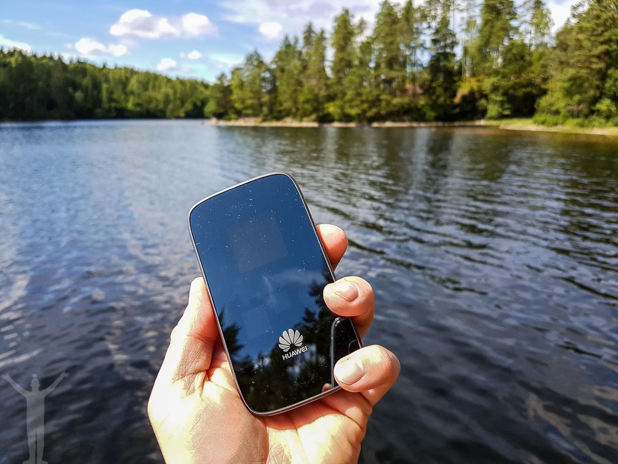 4G-router i Dalslands djupa skogar.