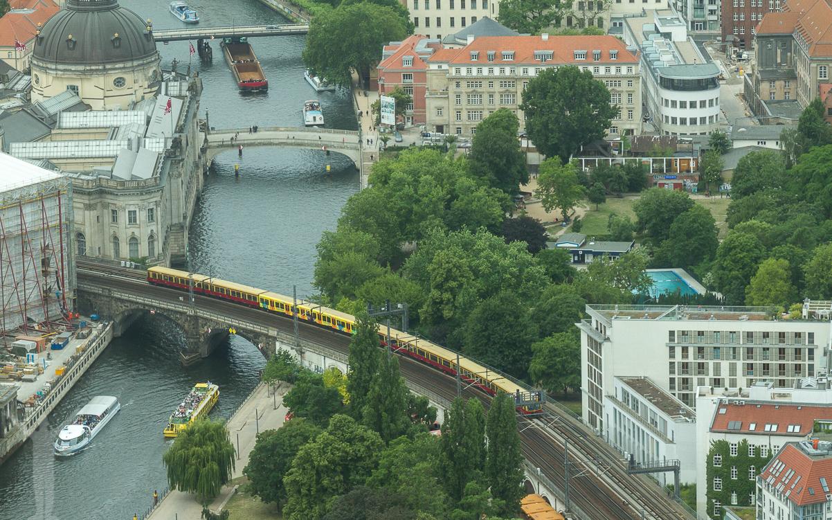 Berlins olika transportmedel