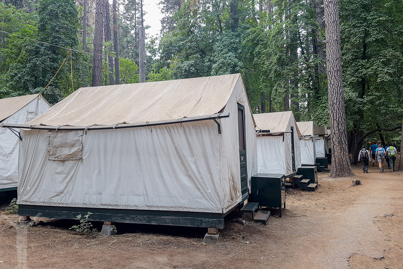 Tälthytt i Yosemite