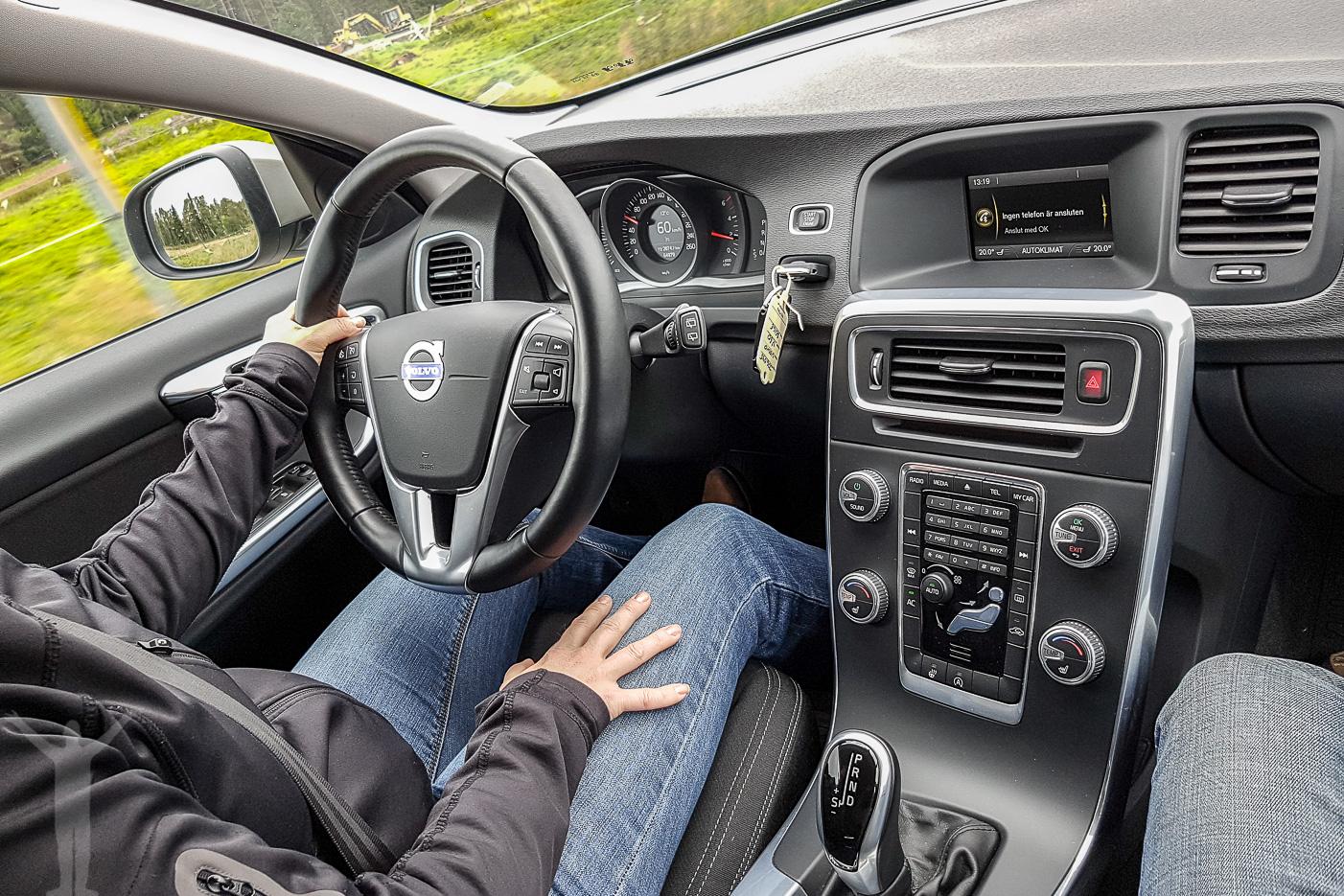 Volvo V60 D2 Kinetic - interiör