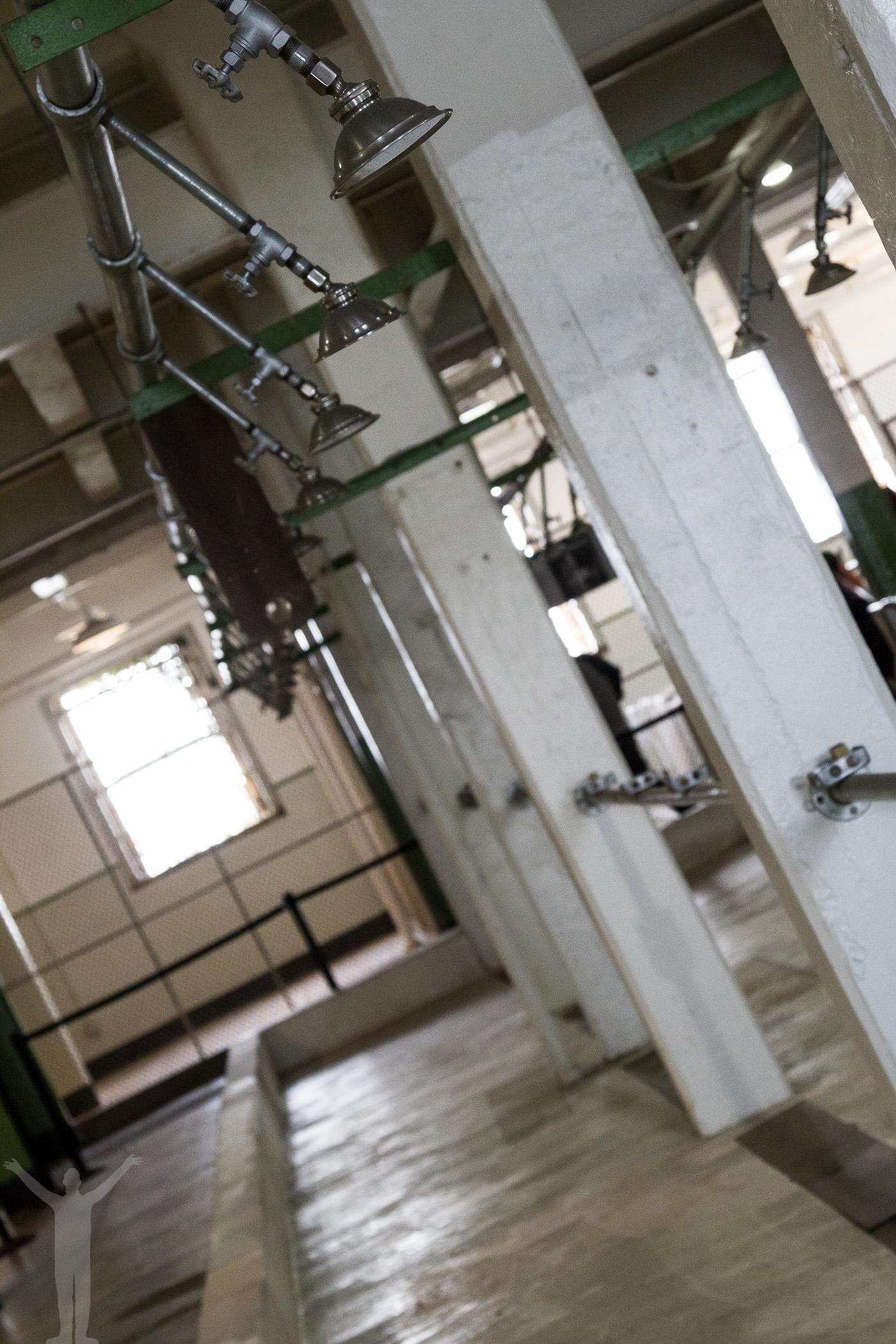 Duschrum på Alcatraz