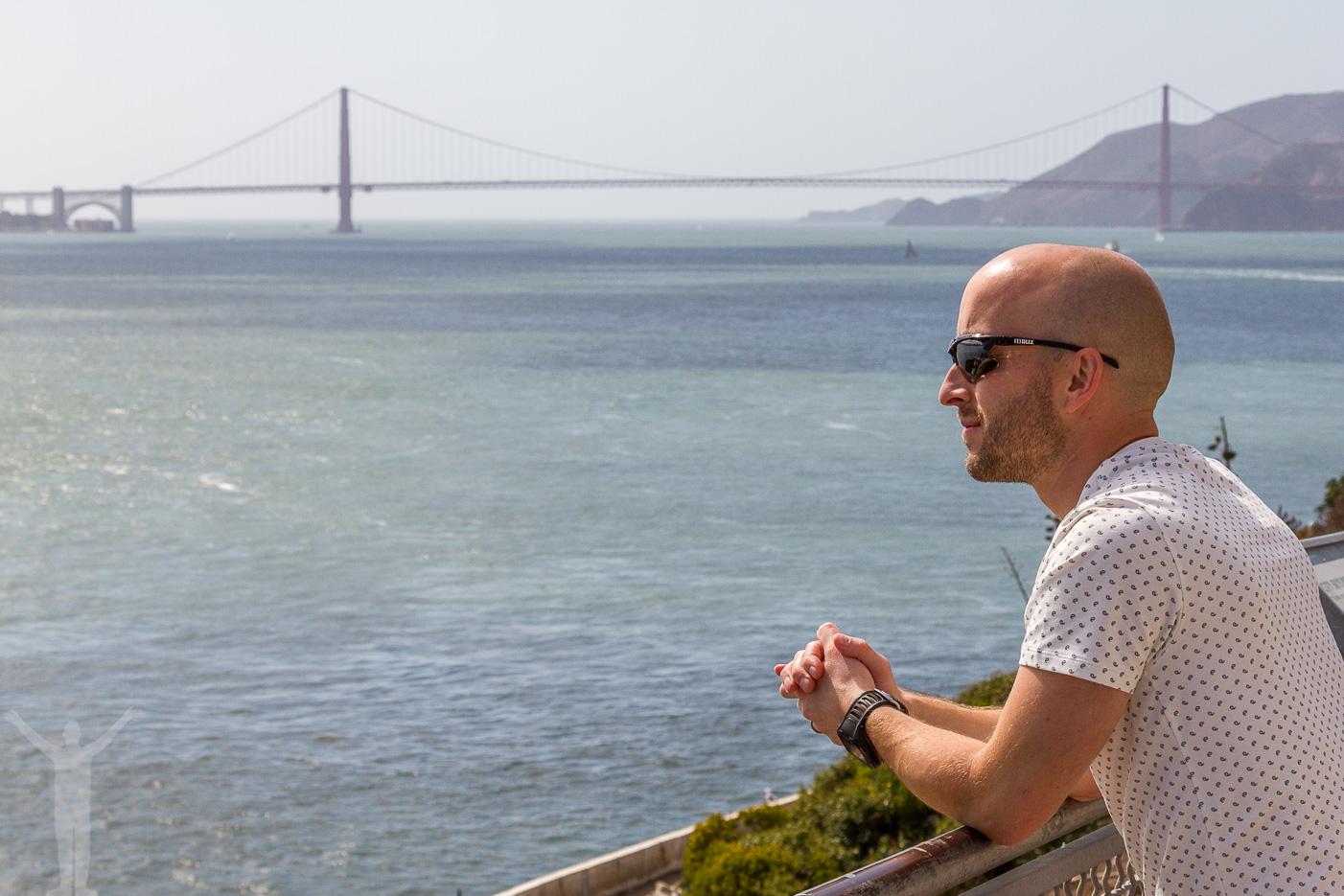 Fantastiska vyer från Alcatraz
