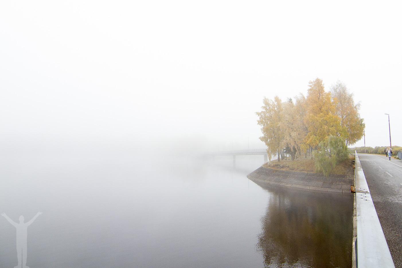 Gångbron mot Östersund